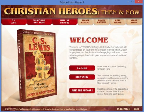 Christian Heroes Then and Now biography