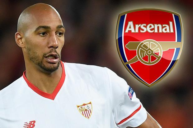Arsenal nhắm đến tiền vệ Steven N'Zonzi của Sevilla