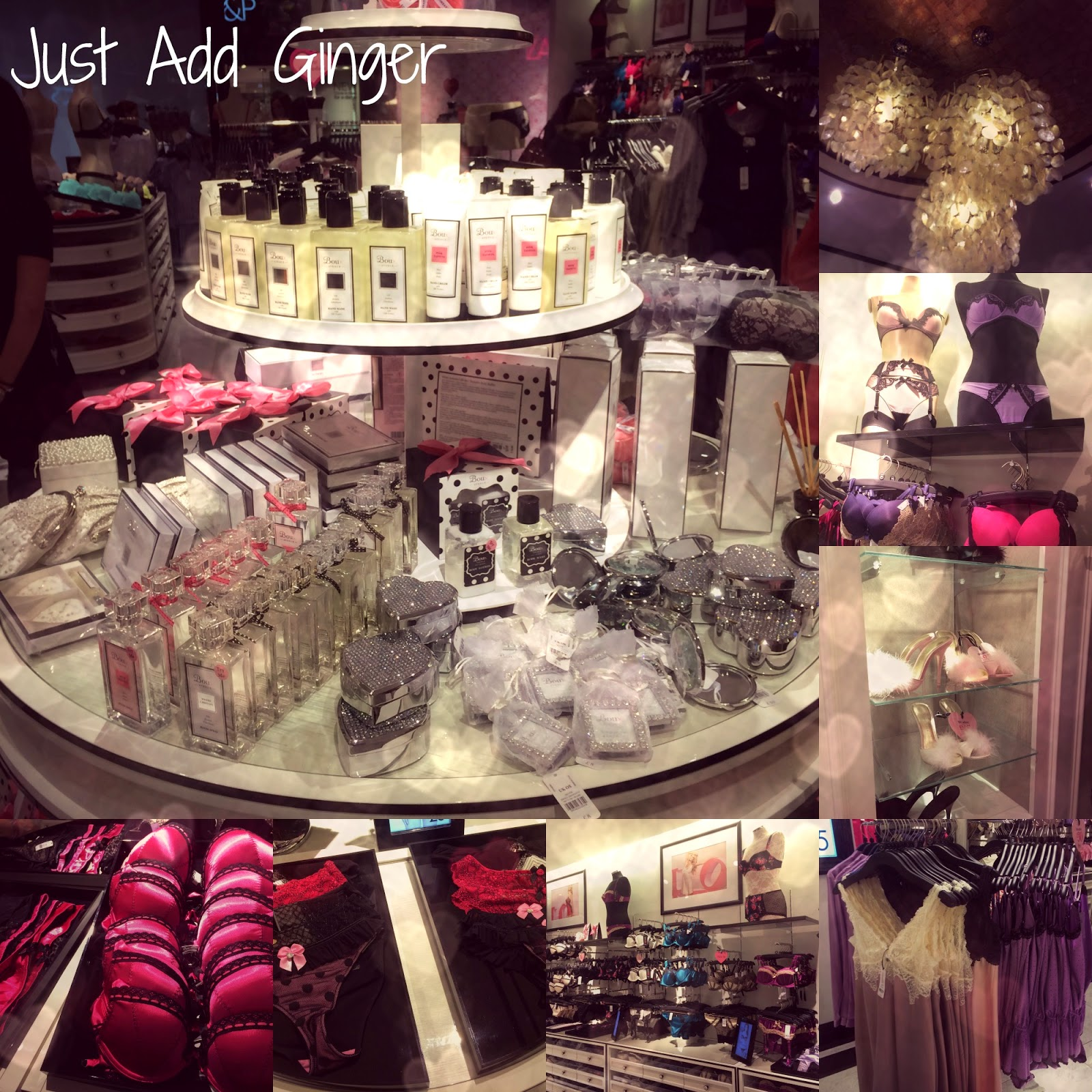 An Evening At Boux Avenue - Just Add Ginger