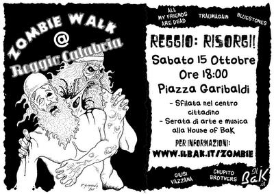 Zombie Walk Reggio Calabria: 15 Ottobre 2011