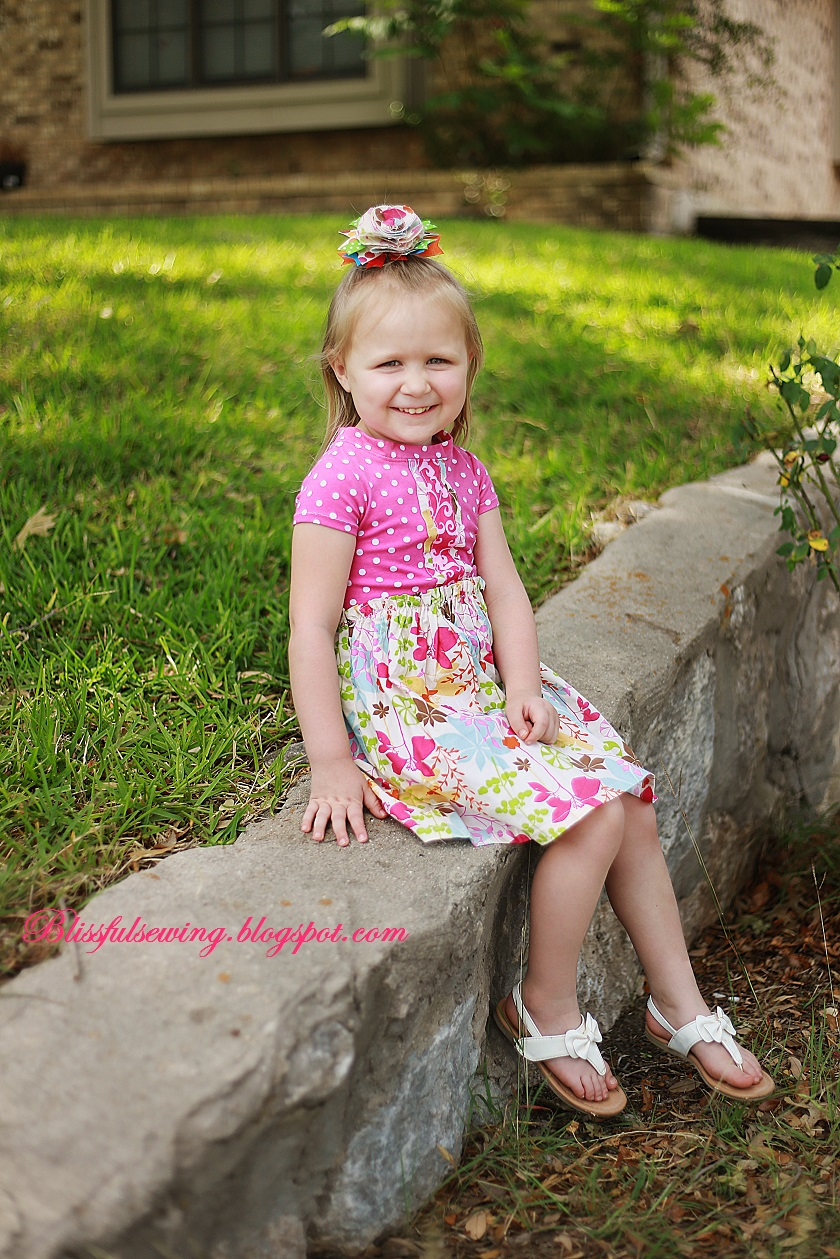 Knit Dress Sewing Pattern : Sewing Patterns for Girls Dresses and Skirts: Knit-Woven ...