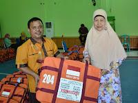 Perlengkapan Jamaah Haji Kota Gorontalo Telah Didistribusikan