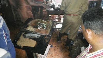 Petrol bomb blast at Vellarada village office in Thiruvananthapuram