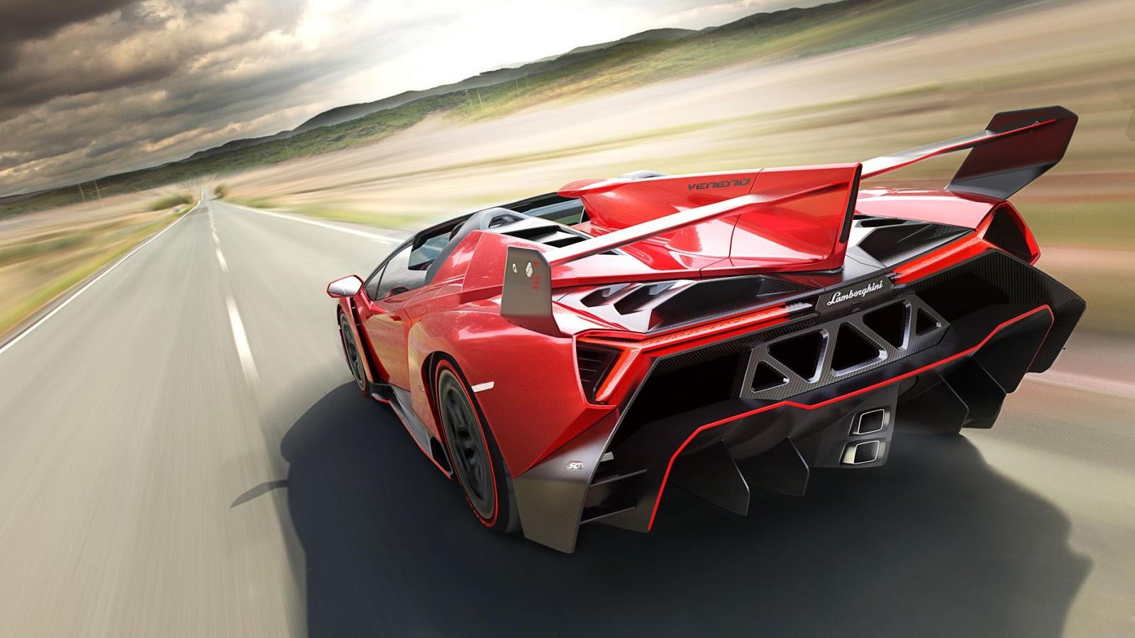 Lamborghini Veneno Roadster là một trong những siêu phẩm vừa đẹp mặt vừa đẹp mông
