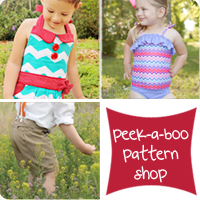 Peek-a Boo Pattern Shop