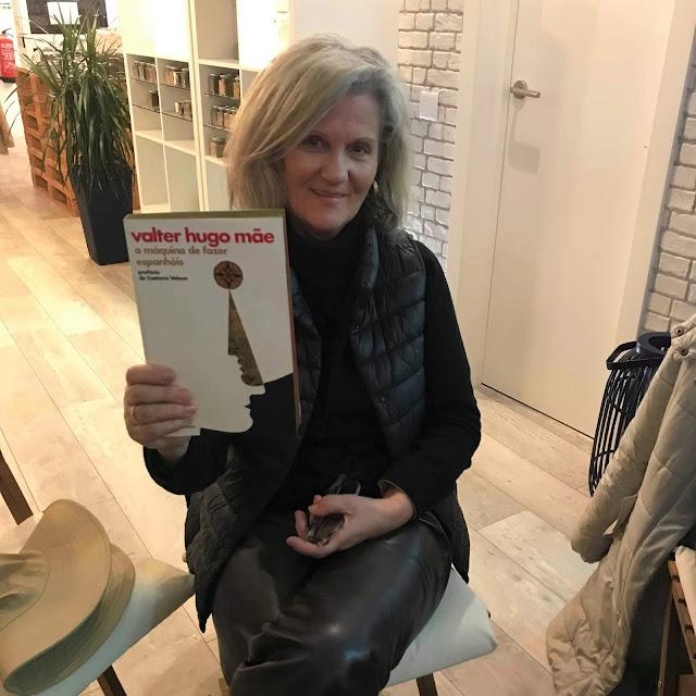 1.º encontro Livros à Sexta de 2019 livro oferta porto editora valter hugo mãe armazem de ideias ilimitada