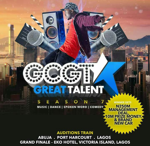 GCGT Season 7 Is Here!Don't Miss The Audition Train!