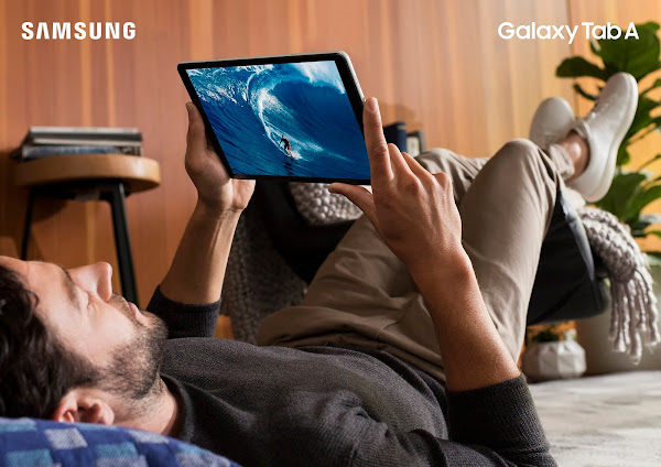Samsung Galaxy Tab A for movies