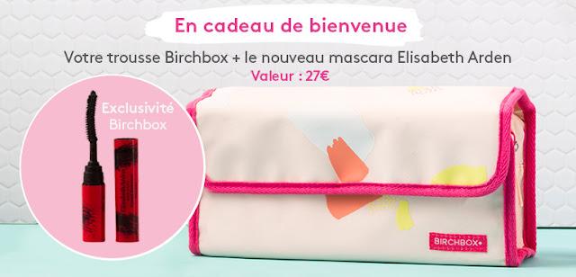 cadeau bienvenue birchbox