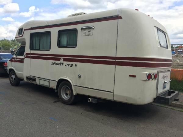 Used RVs 1978 Dodge Xplorer 272 Motorhome For Sale by Owner
