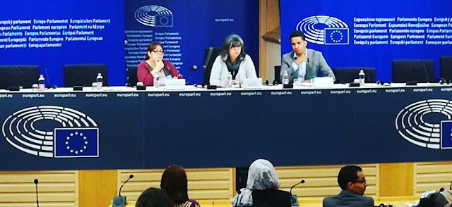 """بدعوة من حزب اليسار الموحد محامون ومدافعون عن حقوق الإنسان يشاركون في ندوة حول """"واقع حقوق الانسان في الصحراء الغربية"""" ببروكسل"""