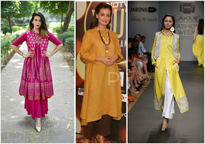 How to style kurtis for Short Girls, fashion tips for short girls, indian wear tips for short girls, how to style indian wear for short girls