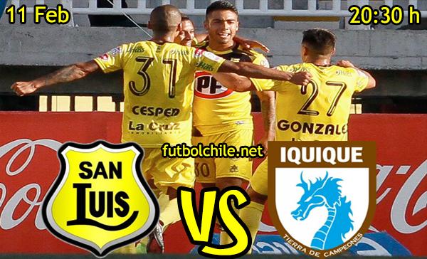 Ver stream hd youtube facebook movil android ios iphone table ipad windows mac linux resultado en vivo, online: San Luis vs Deportes Iquique