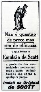 Emulsão de Scott - Jornal O Taquaryense, Taquari (RS)