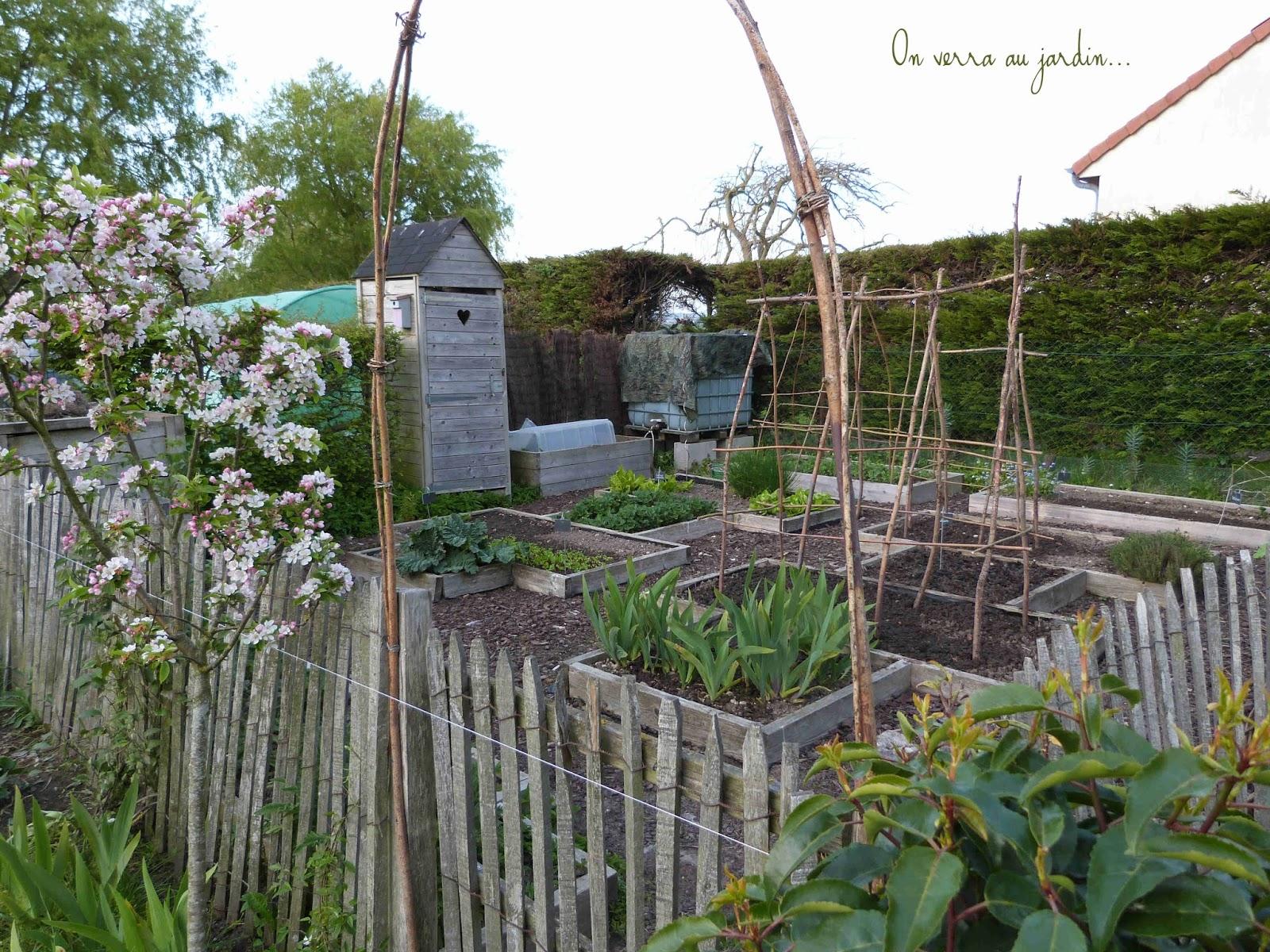 On verra au jardin potager en mai - Que planter en mai au potager ...