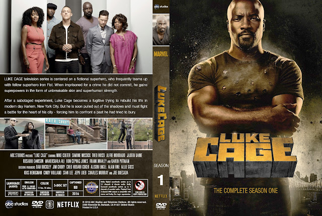 Luke Cage Season 1 DVD Cover