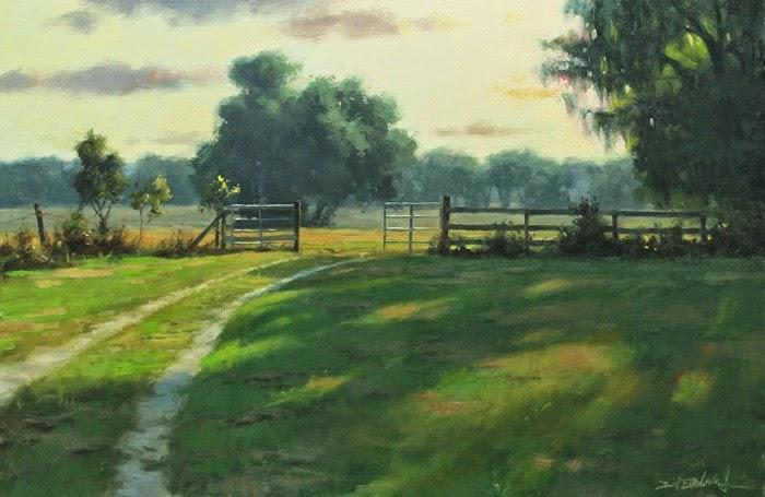 Современный американский художник. Bill Farnsworth