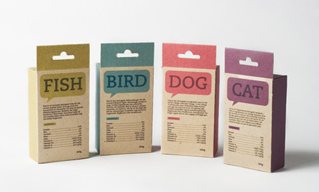 Fish Bird Dog Amp Cat Concept On Packaging Of The World