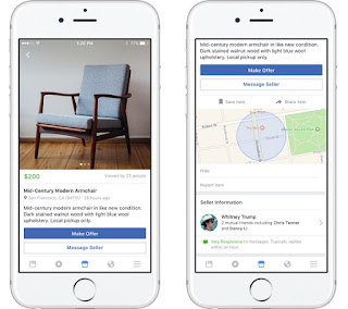 Facebook debuts Marketplace, a convenient destination to discover, buy and sell items with people in your community