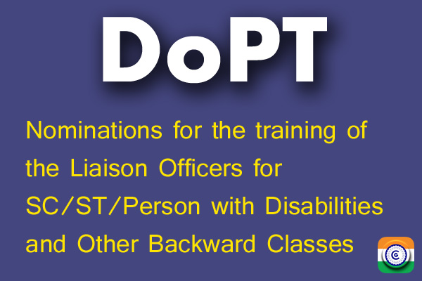 DoPT-Disabilities-Other-Backward-Classes