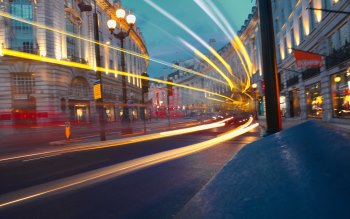 Wallpaper: London Street Lights