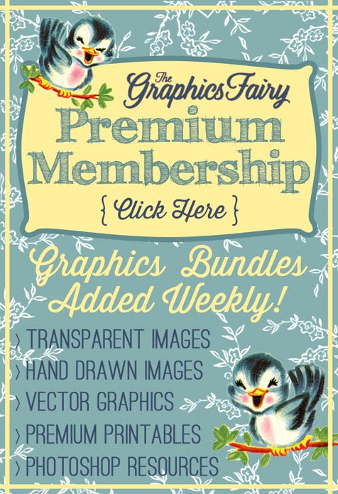 The Graphics Fairy Premium Membership