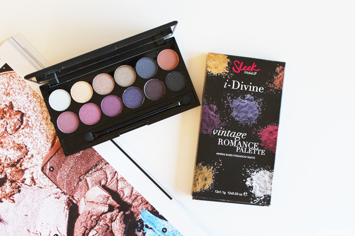 SLEEK MAKEUP // i-Divine Mineral Based Eye Shadow Palette in Vintage Romance 141 | Review + Swatches - CassandraMyee