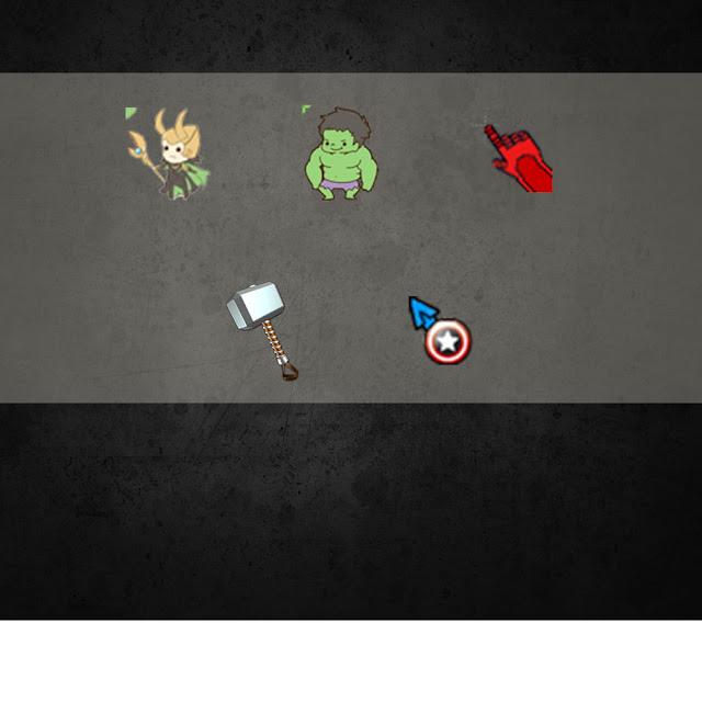 League Of Legends Marvel Cursors