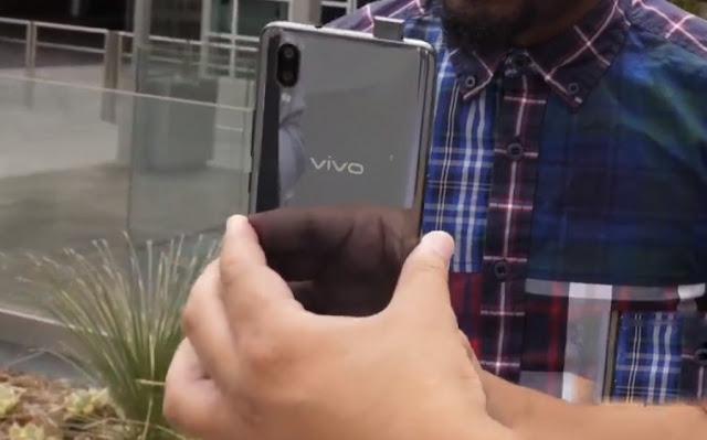 جوال Vivo NEX بكاميرا أمامية منبثقة من الاطار