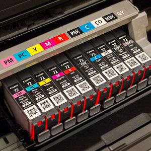 10 catridge yang digunakan printer canon pixma pro 10