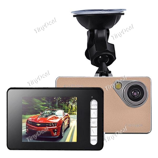 "H2000 2.4"" LCD FHD 1080P 90° Wide Angle Camera Recorder Car DVR"