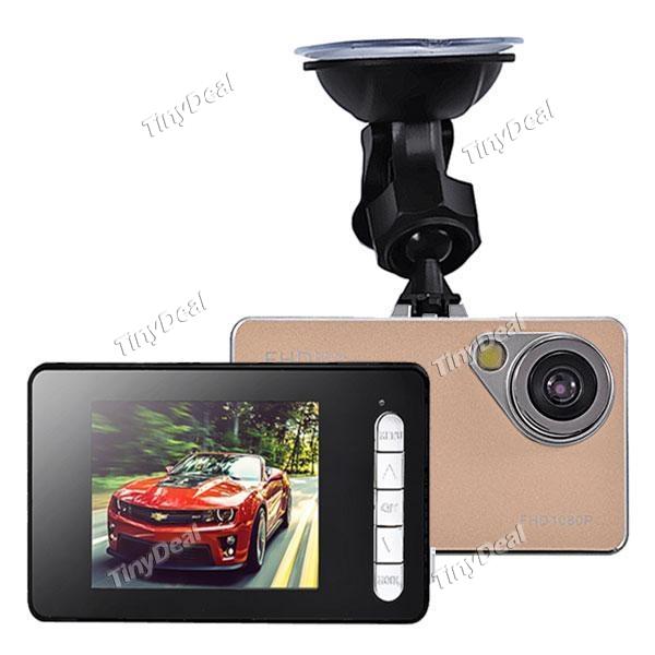 "H2000 2.4"" LCD FHD 1080P 90° Wide Angle Camera Recorder Car DVR"