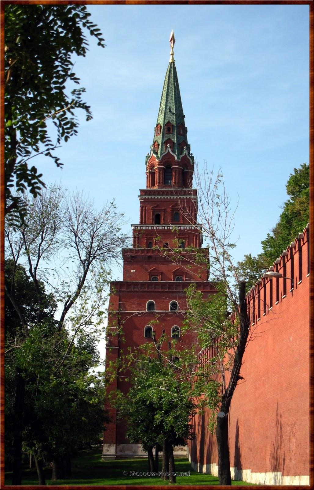 Borovitskaya (Predtechenskaya) Tower of Moscow Kremlin