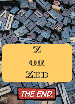 Zed - The End of Blogging Through the Alphabet on Homeschool Coffee Break @ kympossibleblog.blogspot.com
