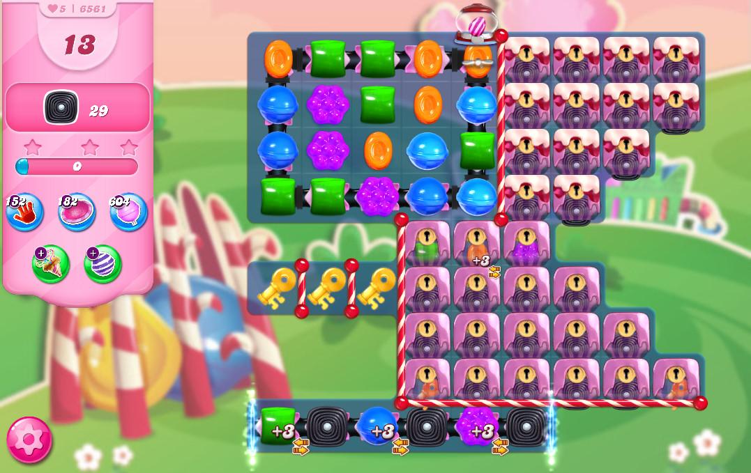Candy Crush Saga level 6561