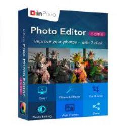 تحميل InPixio Photo Editor مجانا لتعديل الصور ومشاركتها بسهولة مع كود التفعيل