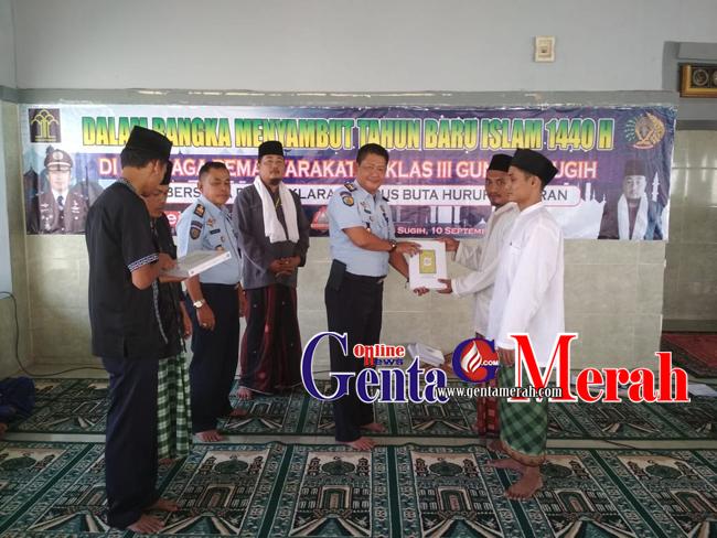 Memont 1 Muaharam, Napi Gunungsugih Derklarasi Hapus Buta Huruf Alqur'an