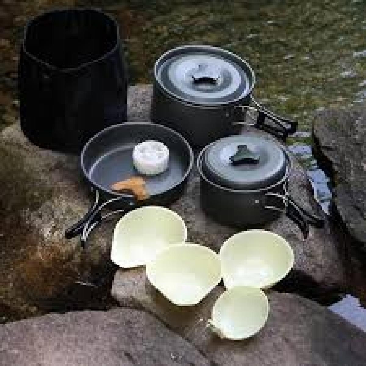 Sewa Rental Alat Camping Hikking Tenda Sb Kompor Semarang Eiger Cooking Set Ds 301