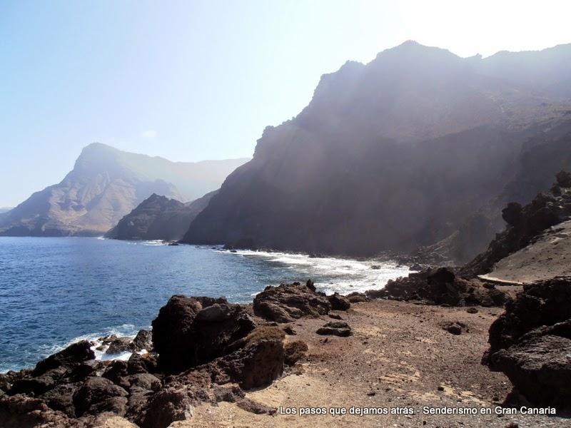 Roque Faneque desde la Punta de las Arenas