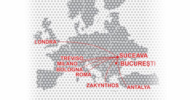 Tarom introduce zboruri Suceava-Torino începând din luna iulie. Biletele pornesc de la 47 de euro