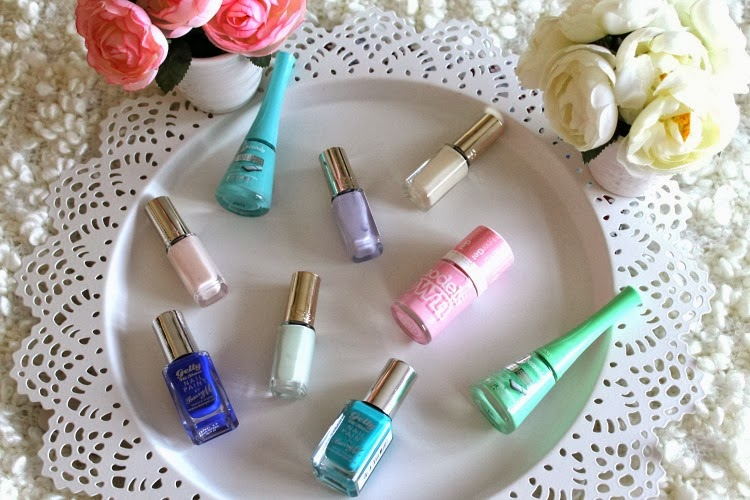Top inexpensive nail polishes for spring 2014