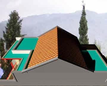 terpopuler 20+ desain talang air beton rumah minimalis