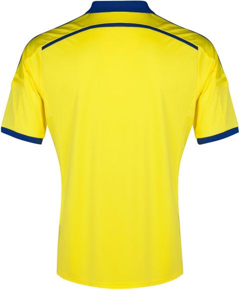 2c495e3734 O terceiro uniforme é azul escuro com linhas verticais em azul claro.  Compre camisas do Chelsea ...