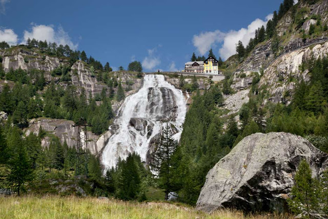 cascate in <Piemonte