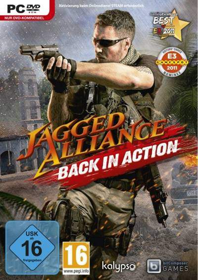 Jagged Alliance Back in Action PC Full 2012 Descargar Español Skidrow ISO