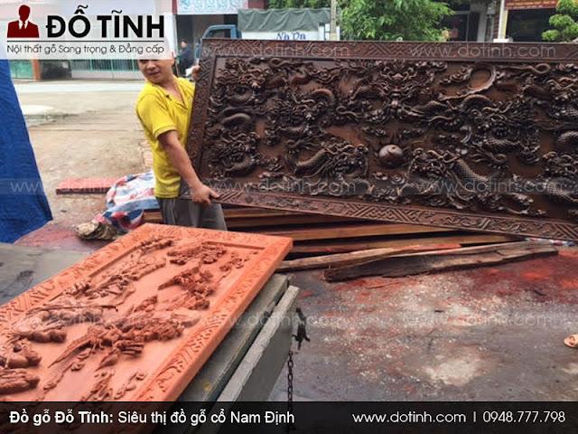 Đồ gỗ ở Nam Định đang trên bước tiến hội nhập