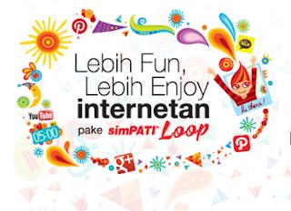 Cara Daftar Paket Internet Murah Simpati Loop 12 GB Rp.60.000, paket murah simpati loop, paket bulanan simpati termurah, paket bulanan telkomsel termurah quota 12gb, paket bbm murah, paket internet murah telkomsel.