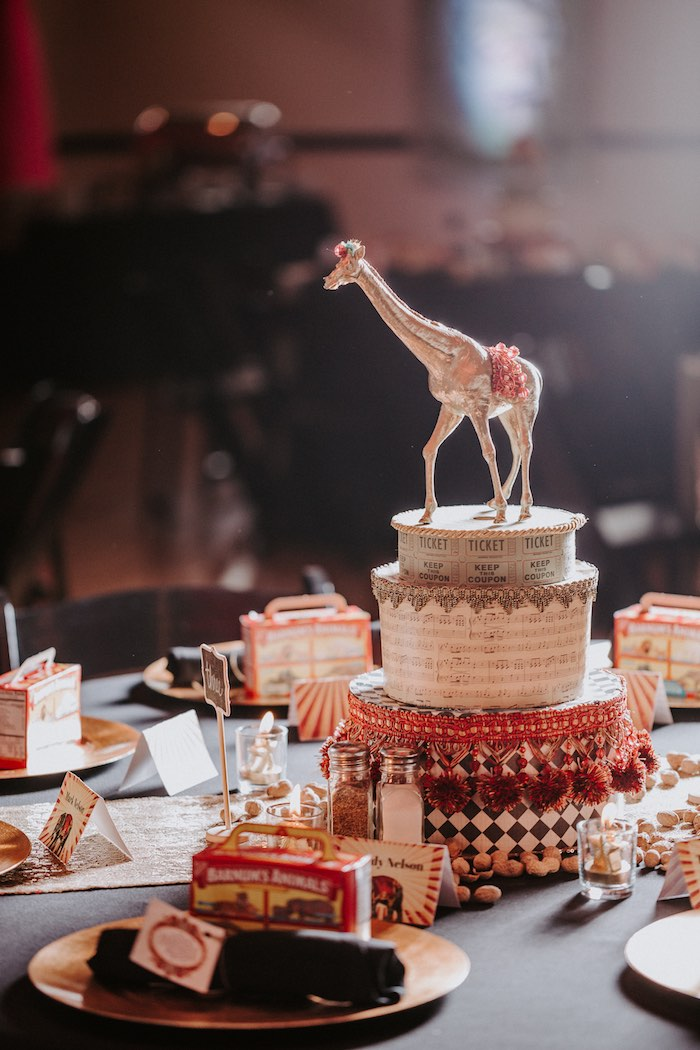 The Greatest Showman Party Ideas - By BambinoAmore