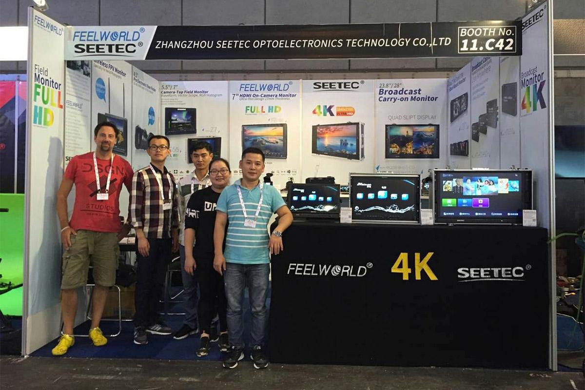 IBC2016: FEELWORLD& SEETEC show the new Full HD/ 4K Monitor