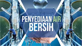 air bersih, penyediaan air bersih, krisis air bersih di indonesia